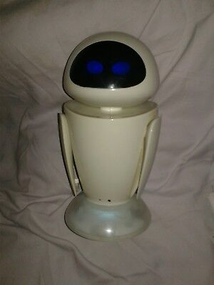 "Disney Pixar Movie Wall- E Eve 2008 Remote Controlled 12"" Tall Made by Supertoys"