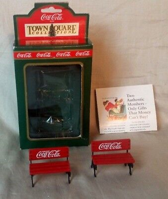 Town Square Collection Item# 64319 Park Bench Coca Cola 1992