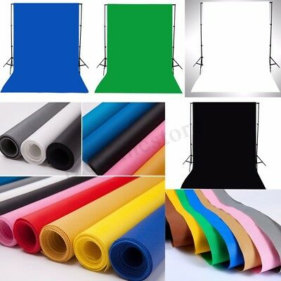 1.5m x 1m Photography Photo Studio Backdrop Cotton Muslin Background Screen UK