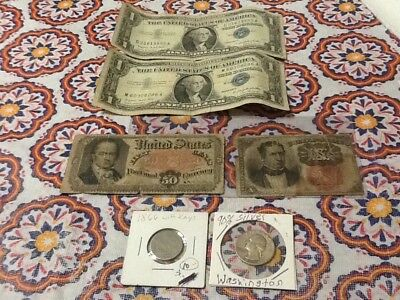 US Currency And Coins Collection lot