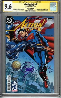 Action Comics #1000 CGC 9.6 NM+ SS STERANKO Superman 1970s Variant Holiday Gift