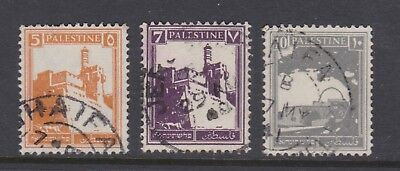 Palestine old stamps x 3