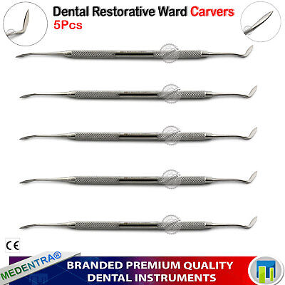 Ward Amalgam Wax Carvers Carving / Modelling Wax Restorative Filling Instruments