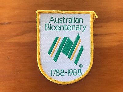 Collectible Patch - Australian Bicentenary