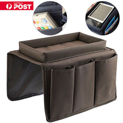 4 Pockets Arm Rest Organiser for Chair Couch Sofa Table Top Holder Organiser