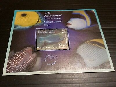 British Indian Ocean Territory 2002 Sg Pms1  10Th Anniv Of Friends Of Ch  Mnh