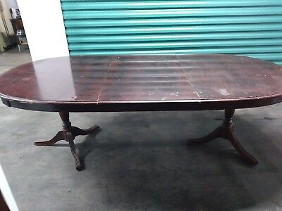 Antique Mahogany Table And Chairs - Early 20Th Century - Reduced !!!!!!!!!!!!!!!