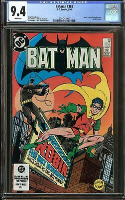 Batman #368 CGC 9.4 NM JASON TODD as 2nd Robin Officially Holiday Gift Not 9.8