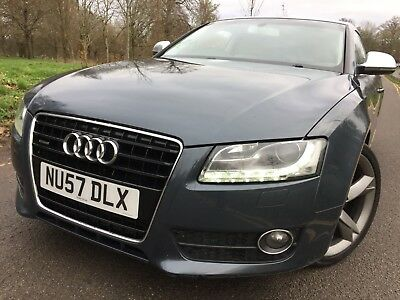 57 Audi A5 3.0 Tdi 239Bhp Quattro Sport Coupe Sat Nav, Leather,7 Services Nice