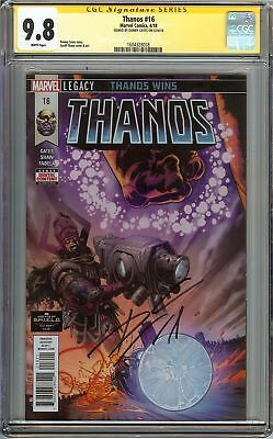 Thanos #16 CGC 9.8 NM/MT SS DONNY CATES Cosmic Ghost Rider Origin Holiday Gift