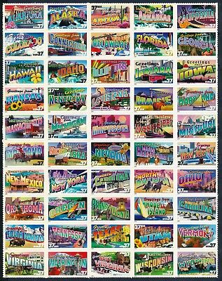 [HF10071] United States America 2000 : Good Set of Very Fine Adhesive Stamps