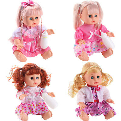 Baby Interactive Dolls with Accessories & Lifelike Talking Dolls Play Set Girls