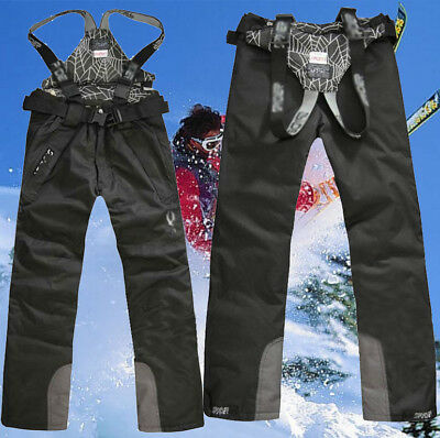 2018 New Men's Sports Waterproof Windproof Ski Snow Pants Overalls Trousers Warm
