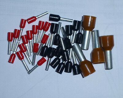 Bootlace Crimp Ferrules Insulated Various sizes