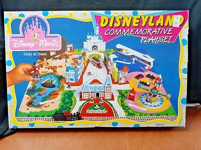 New Disneyland Commemorative Playset Disney Magic Toy Sold Only At Sears