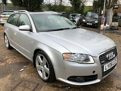 2006 Audi A4 Avant 2.7L Tdi S-Line Estate Manual Cat D *sat Nav* 8 Stamps Silver