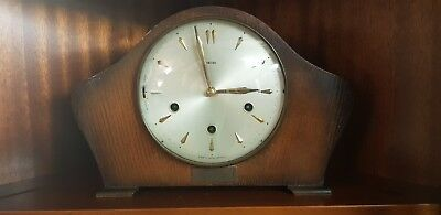 Vintage Smiths Amberley Westminster Chime Mantel Clock
