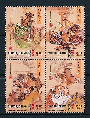 [H10006] Macau 2001 : Good Set of Very Fine MNH Stamps