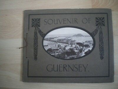 "Souvenir Of Guernsey - The ""dainty"" Series - Vintage Book Of Views"