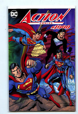 Dc Action Comics 1000 Dan Jurgens Dynamic Forces Color Wrap Variant Superman