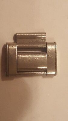 Rolex Oyster End Link early  type C1960 Riveted Ends with Fold over middle
