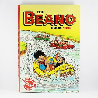 Beano Annual 1995Book - Dennis the Menace Cover Vintage Good Condition
