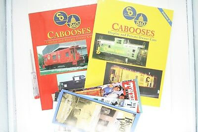 Cabooses - Display & Private Owner Cars - Jones - sehr guter Zustand Eisenbahn
