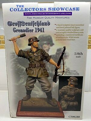 1/6th CS00280 COLLECTORS SHOWCASE - GROSSDEUTSCHLAND GRENADIER 1941 - VERY RARE