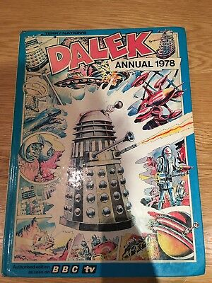 Terry Nation's DALEK Annual 1978 - Doctor Who BBC TV