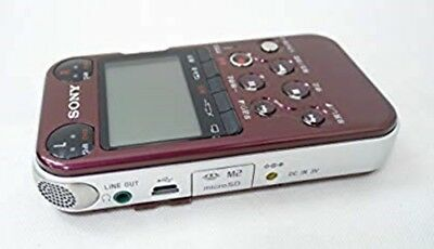 Used SONY PCM-M10 (Red) Audio Linear PCM Recorder Free Shipping from JAPAN