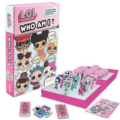 L.O.L. Surprise Who Am I? - 3 Game Pack Book Girls LOL Gift - New  Fast Dispatch