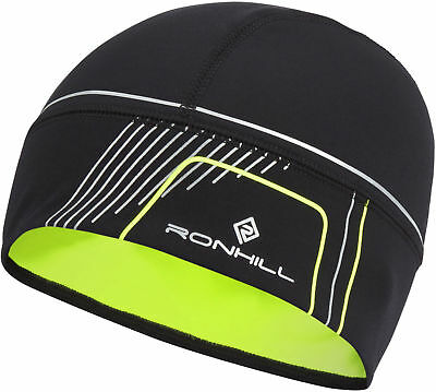 Ronhill Run Beanie Outdoor Running Training Hat Cap Thermal & Reflective - O/S