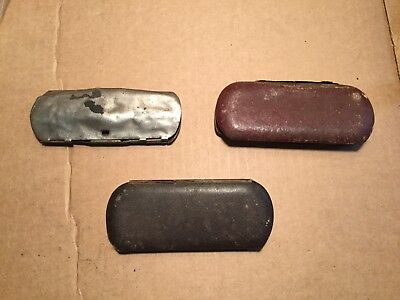 Lot of 3 Vintage Antique Eyeglasses - Two are Marked 14 GF (As-Is)