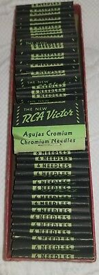 5 Packs Of The New Rca Victor Chromium Phonograph Needles