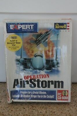 Operation Air Storm PC CD-Rom Revell Series Expert Software (1994) SEALED!