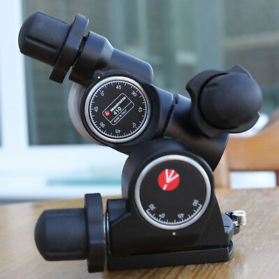 Manfrotto 410 Junior Geared Tripod Head -  Mint Condition
