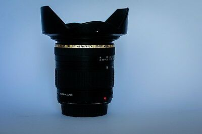 Objetivo Canon Tamron SP AF 11-18mm 1:4.5-5.6 (IF) LD DiII
