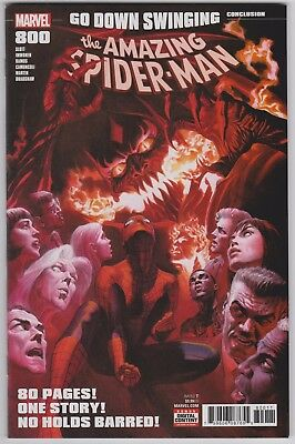 Amazing Spider-Man #800 Alex Ross Cover (July 2018) 1st Print NM
