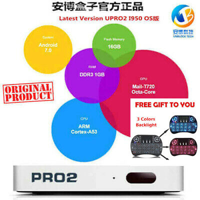 Newest 安博第6代 Unblock Tech Upro Gen 6 I950 Tv Box Os 國際版中港臺日韓成人頻道 Iptv Tv Box  Ca