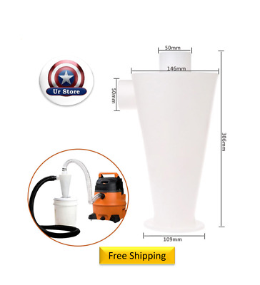 Cyclone Dust Collector Separator Powder Filter High for Vacuums Ia1 (btl8)🔥