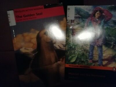 Englisch * Penguin Readers * 2x * Hannah and the Hurricane * The Golden Seal  TB