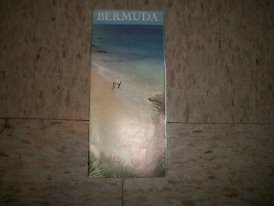 1964 Bermuda tour brochure Travel agency Tourist Brochure Highway Roadside