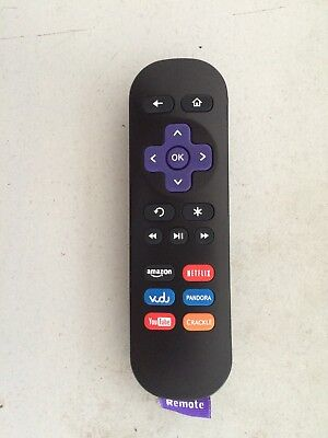 New Roku1 Streaming Player Replacement Remote for Roku 1/2/3/4 LT HD XD XS