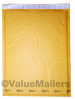 #6 Bubble Lite 12.5x19 Kraft Bubble Mailers Padded Envelopes Bags 50 To 1000