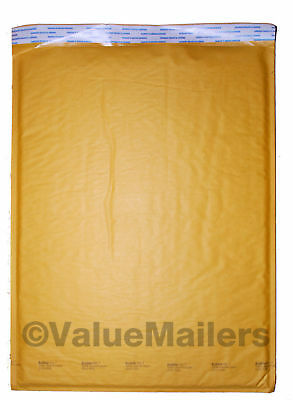 #7 Bubble Lite 14.25x20 Kraft Bubble Mailers Padded Envelopes Bags 50 To 1000