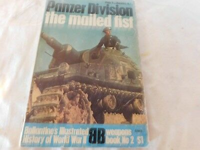 WW2 history book, Ballantines series, Panzer Division-the Mailed Fist