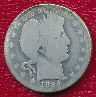 1895-O Barber Silver Half Dollar **historic New Orleans Mint** Free Shipping