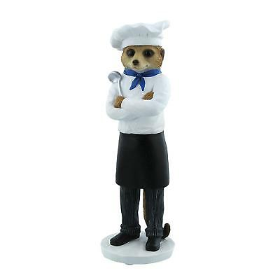 Country Artists Magnificent Meerkats Marco Chef Figurine BRAND NEW - UK Seller