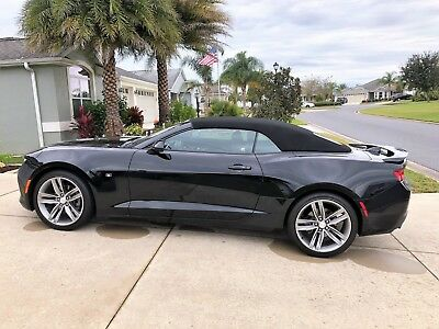 2017 Chevrolet Camaro  2017 Chevrolet Camaro Convertible, Black, 28K Miles, 1LT with RS Pkg.  Gorgeous