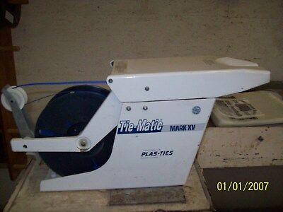 Tie Matic Bakery Bag Tying Machine Mark XV